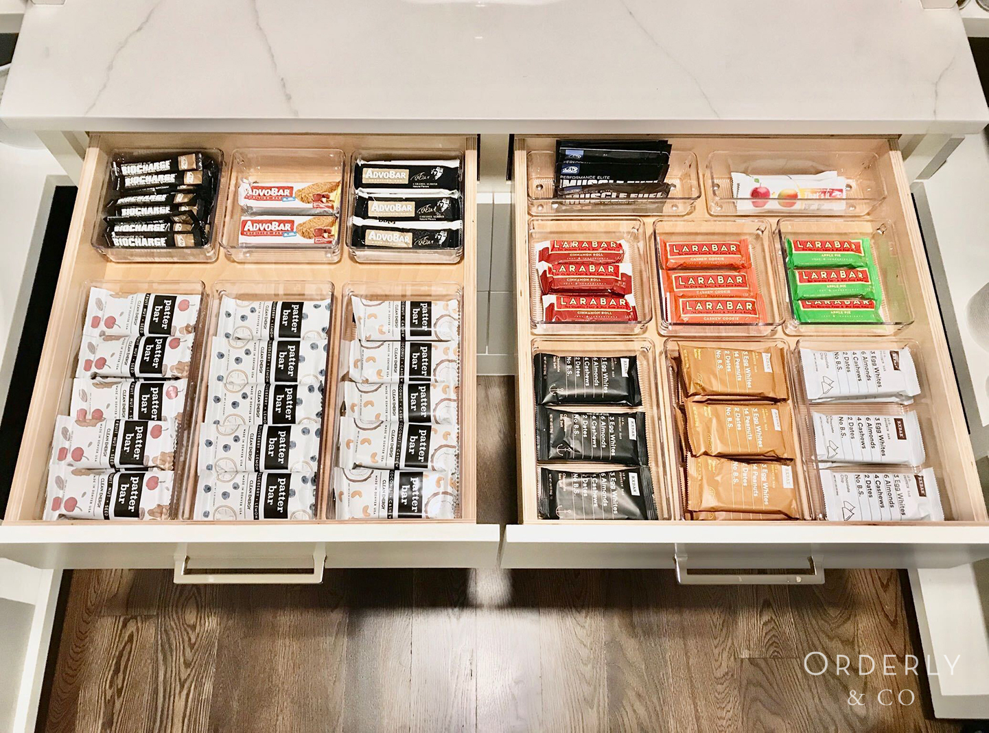 Kitchen Drawer Professionally Organized by Orderly & Co. in Denver, CO
